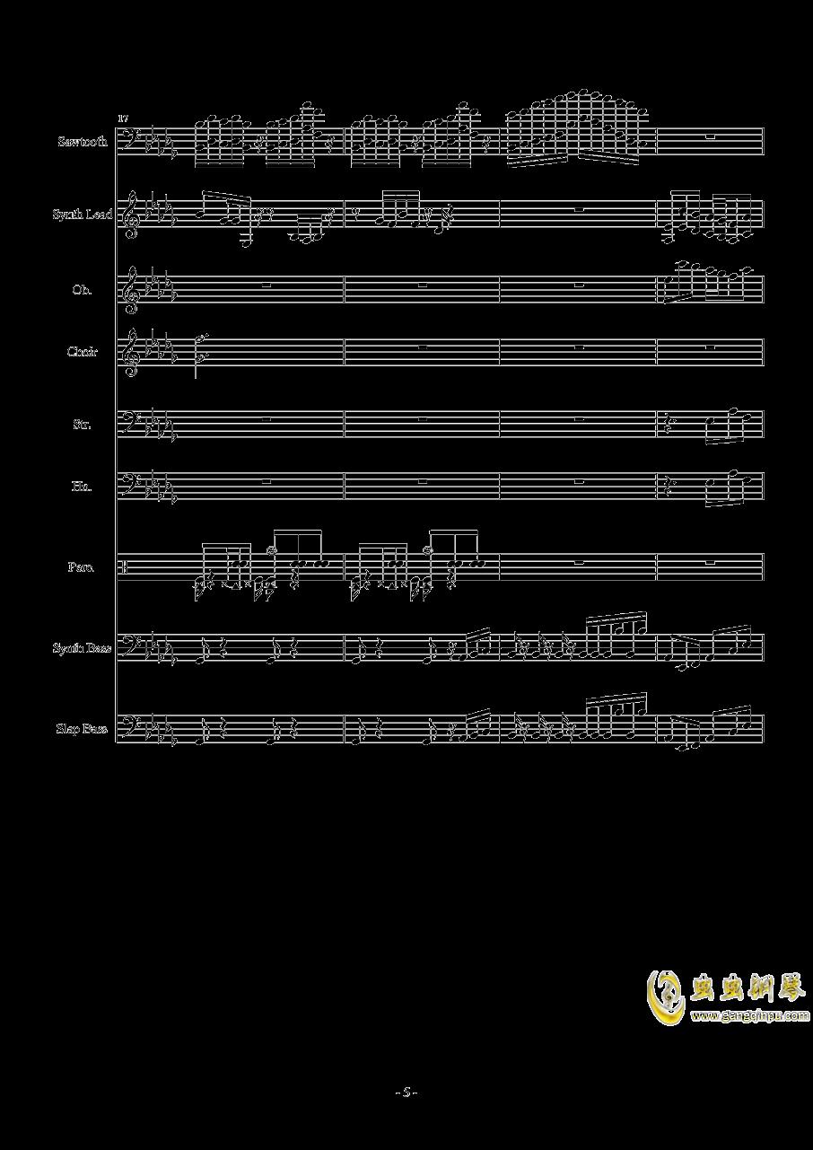 Heartache钢琴谱 第5页