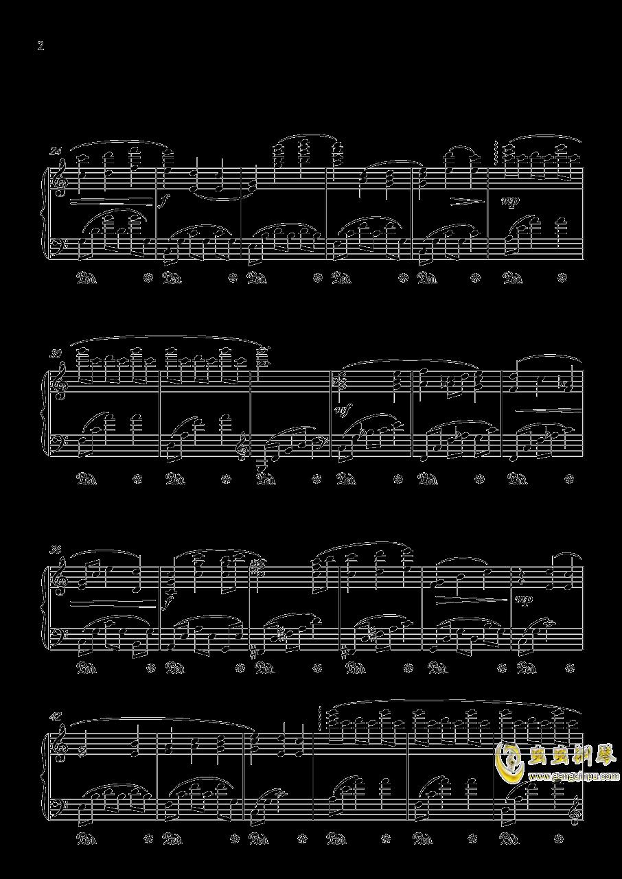 情话集 - 在林间钢琴谱 第2页