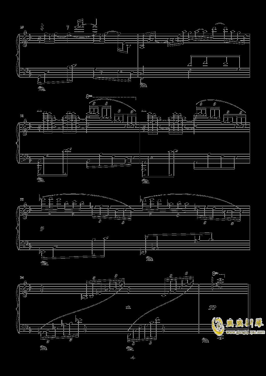 素描-海景钢琴谱 第4页