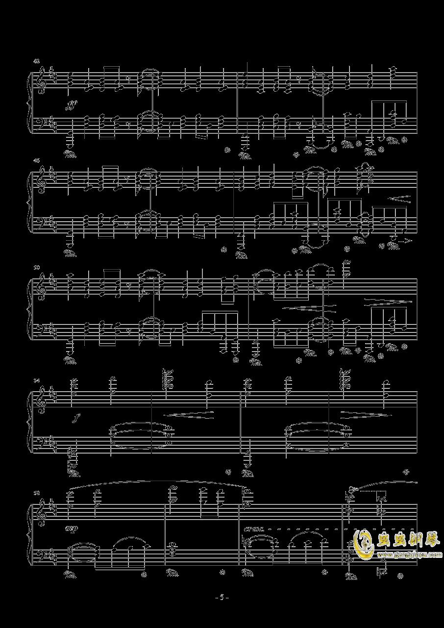 最终幻想13钢琴谱 第5页