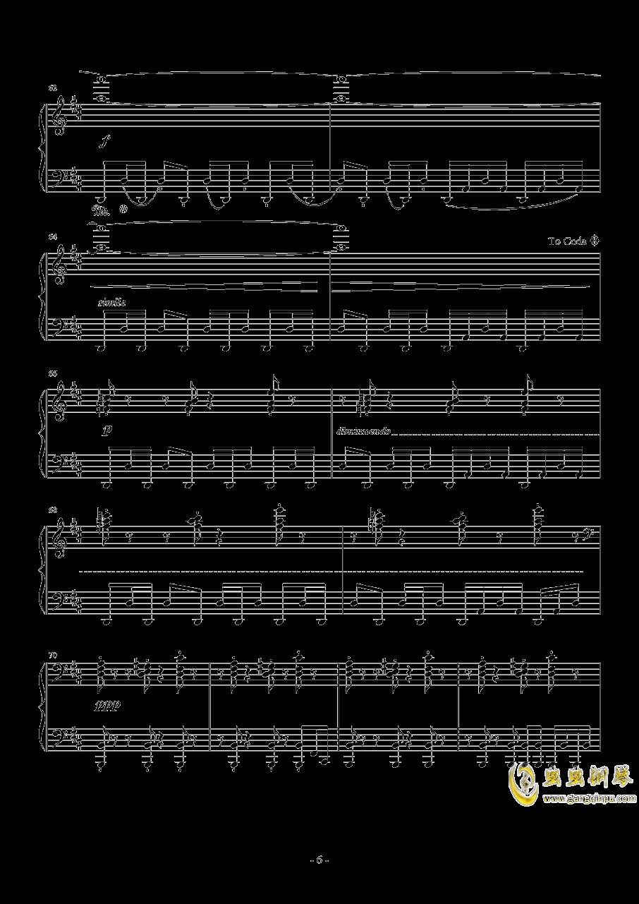 最终幻想13钢琴谱 第6页