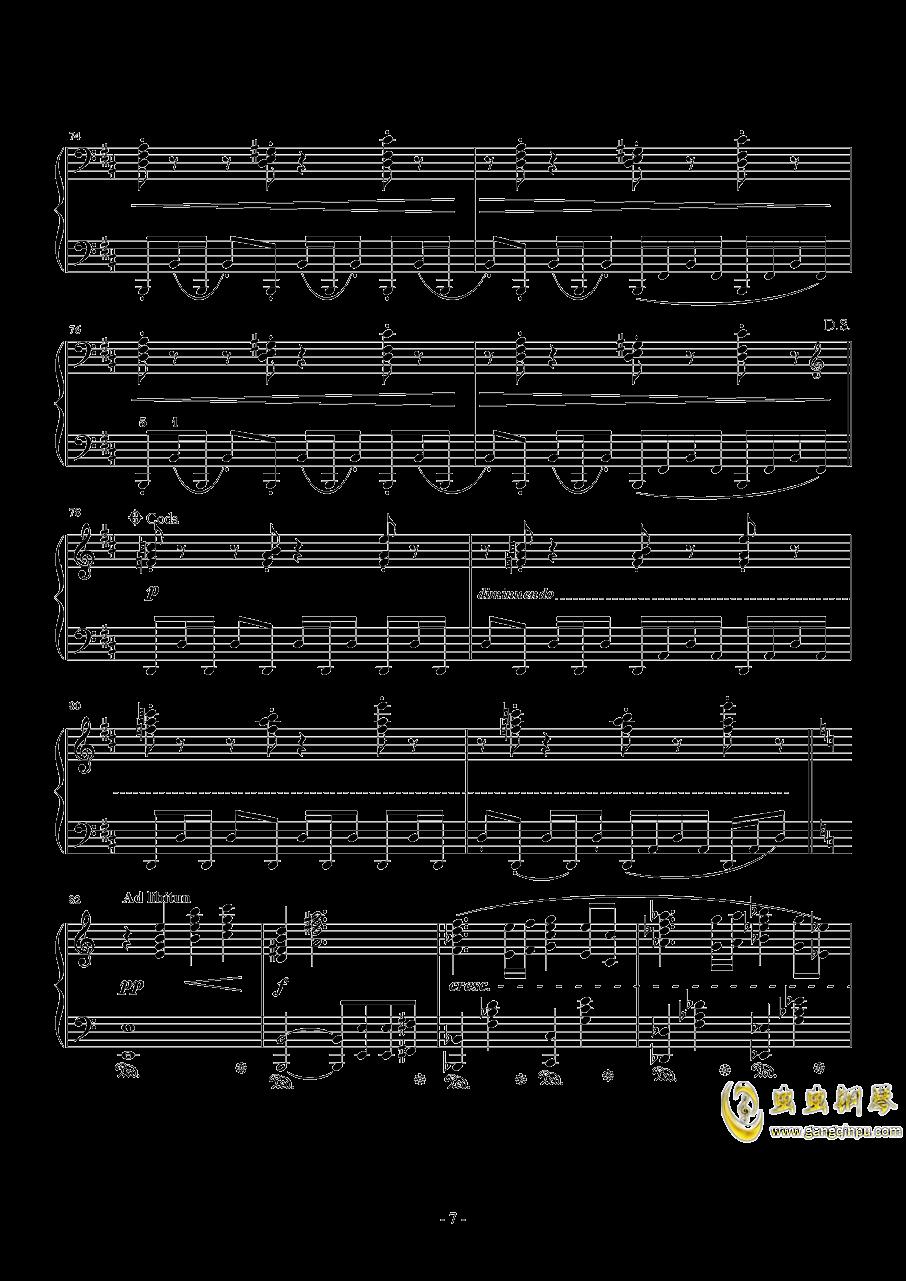 最终幻想13钢琴谱 第7页