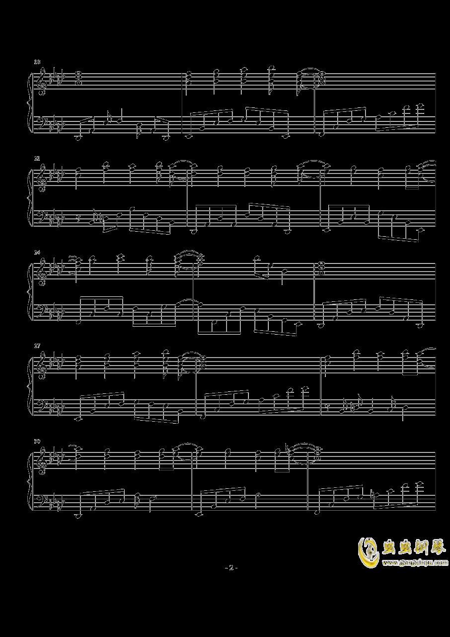 亡灵幻想曲钢琴谱 第2页