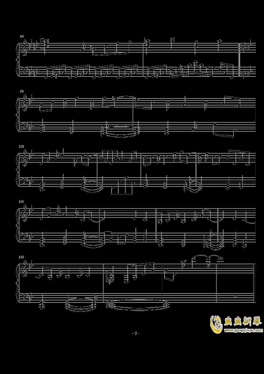 亡灵幻想曲钢琴谱 第7页