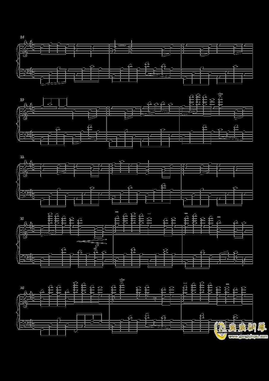 别恐惧钢琴谱 第2页
