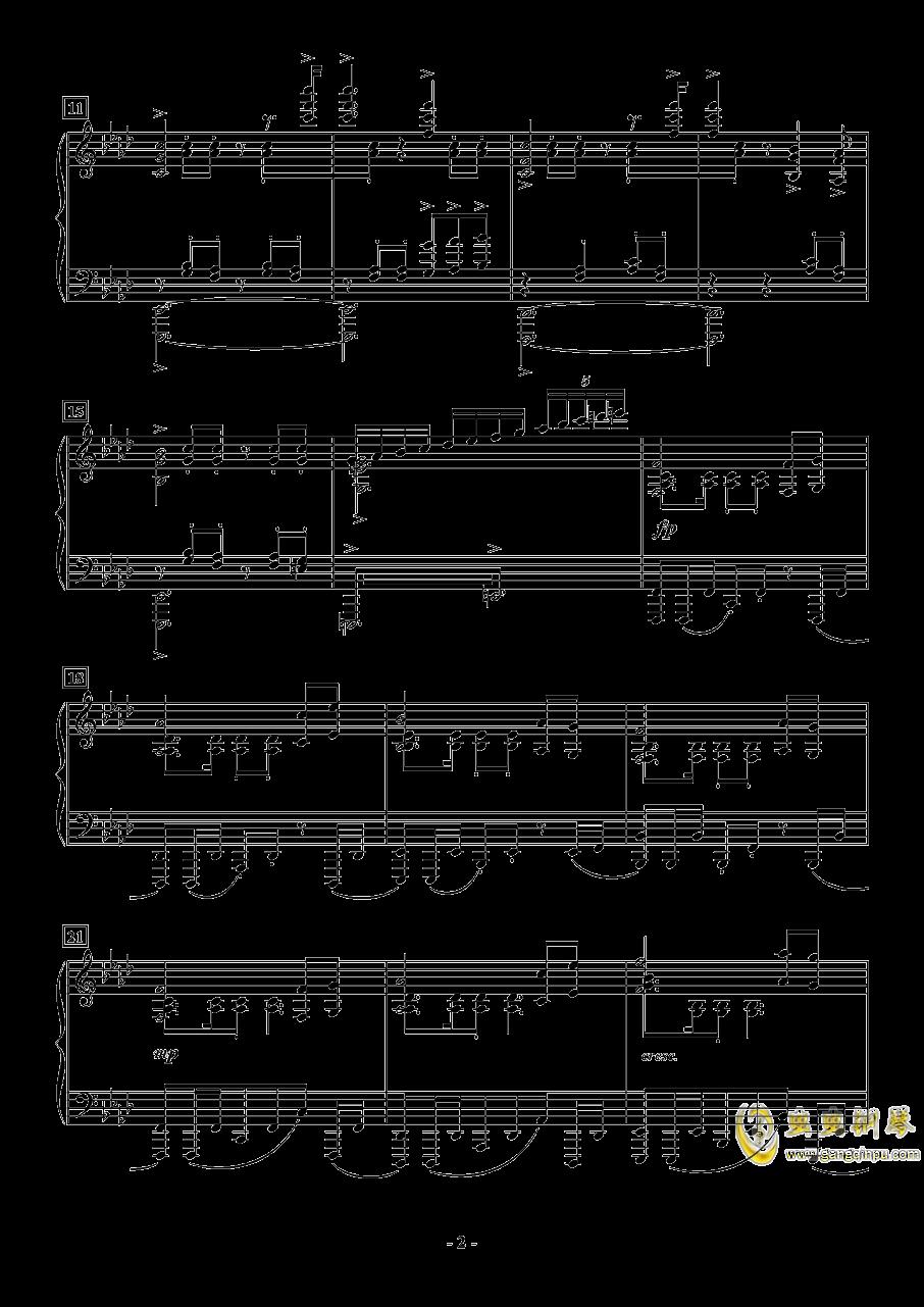APOCALYPSIS NOCTIS钢琴谱 第2页