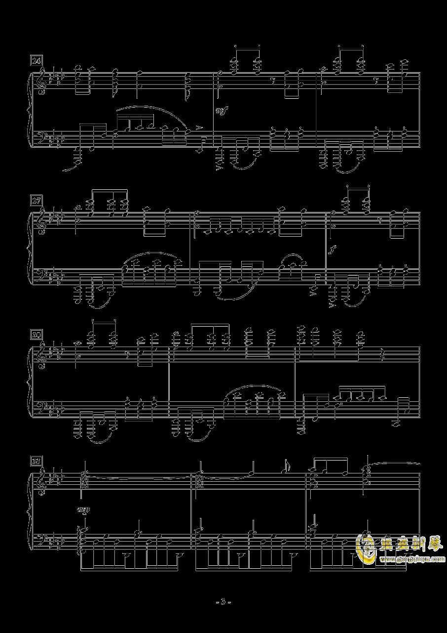 APOCALYPSIS NOCTIS钢琴谱 第3页
