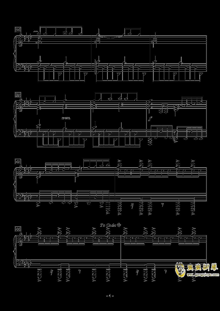 APOCALYPSIS NOCTIS钢琴谱 第4页