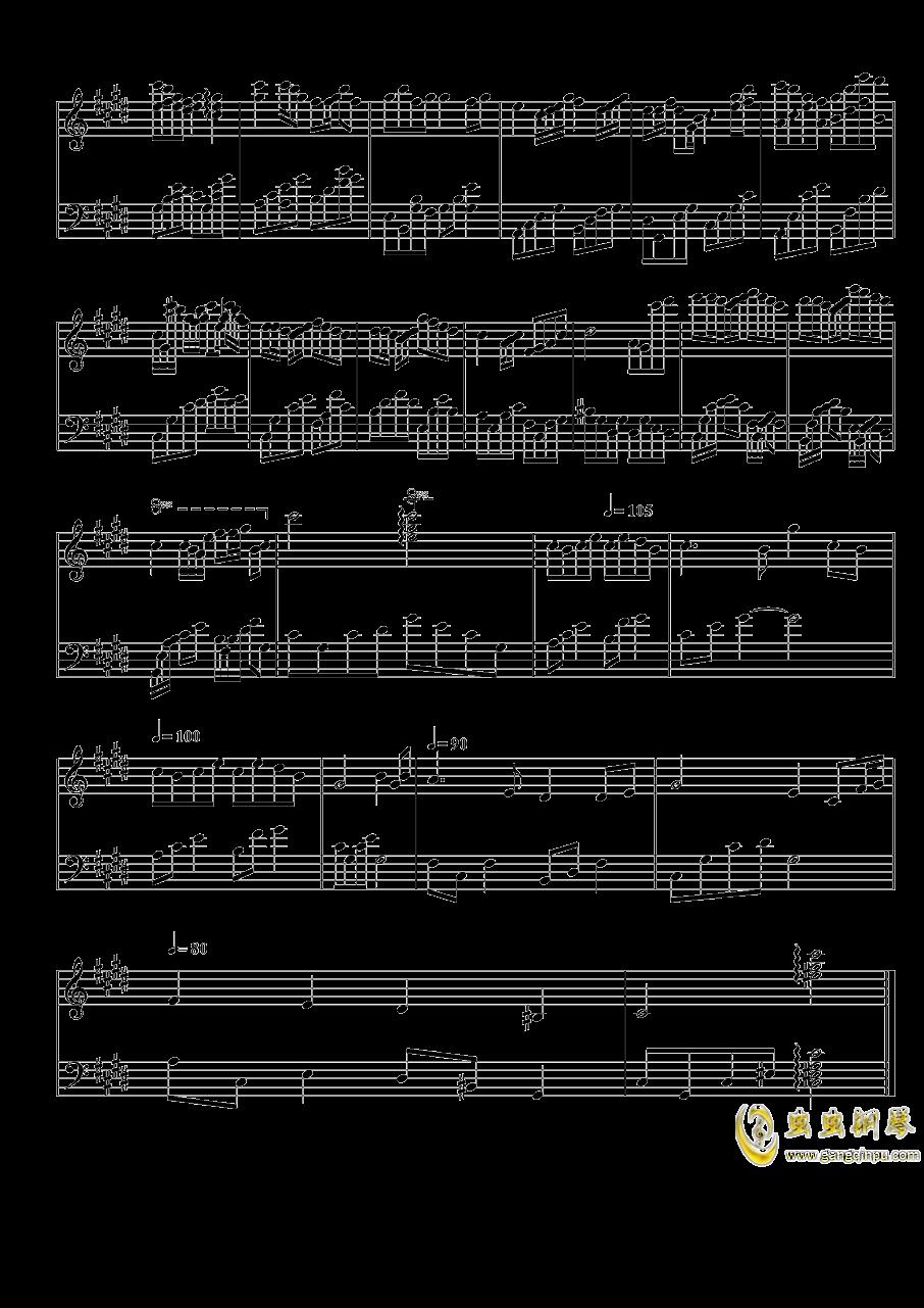 Leave Me Alone钢琴谱 第4页