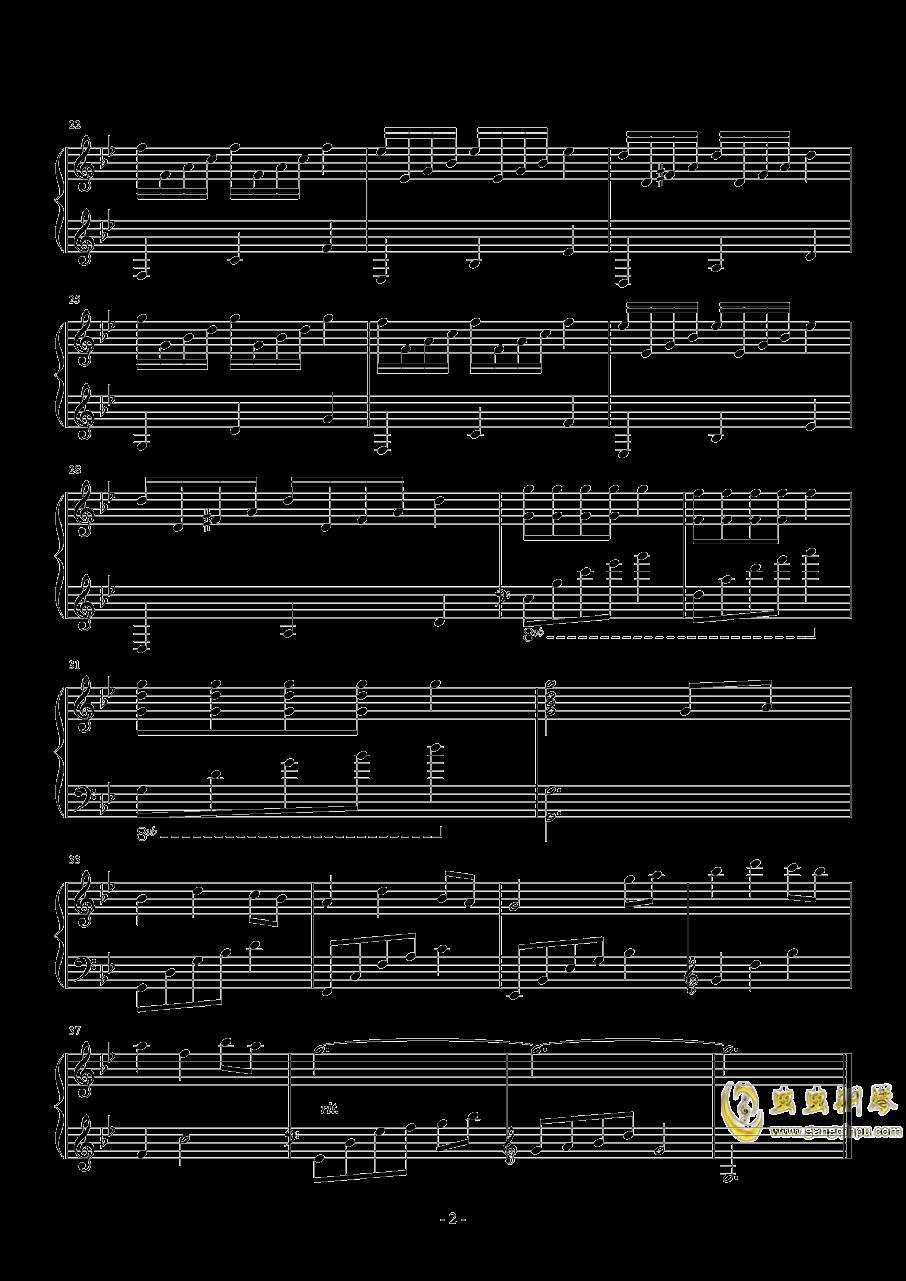 星空物语钢琴谱 第2页