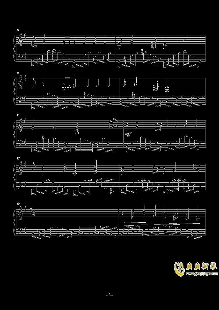 e小调音乐会练习曲钢琴谱 第2页