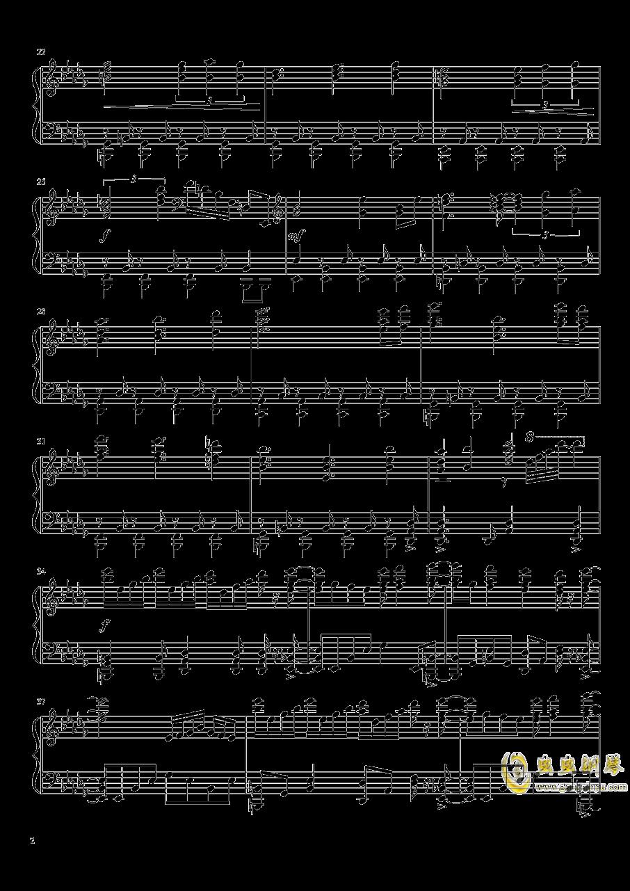 Colorful Path钢琴谱 第2页
