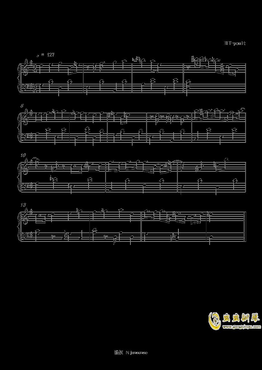 旅行的青蛙钢琴谱 第1页