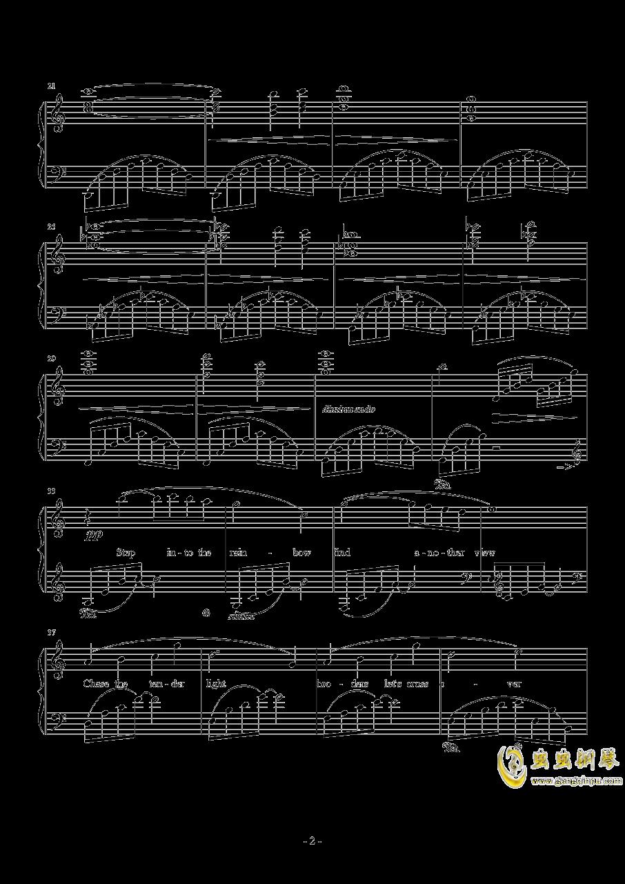 日落水乡钢琴谱 第2页