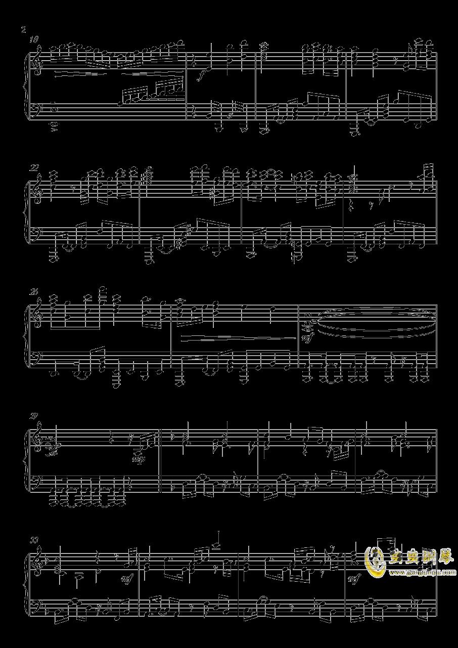 高达UC-Unicorn(改进版)钢琴谱 第2页
