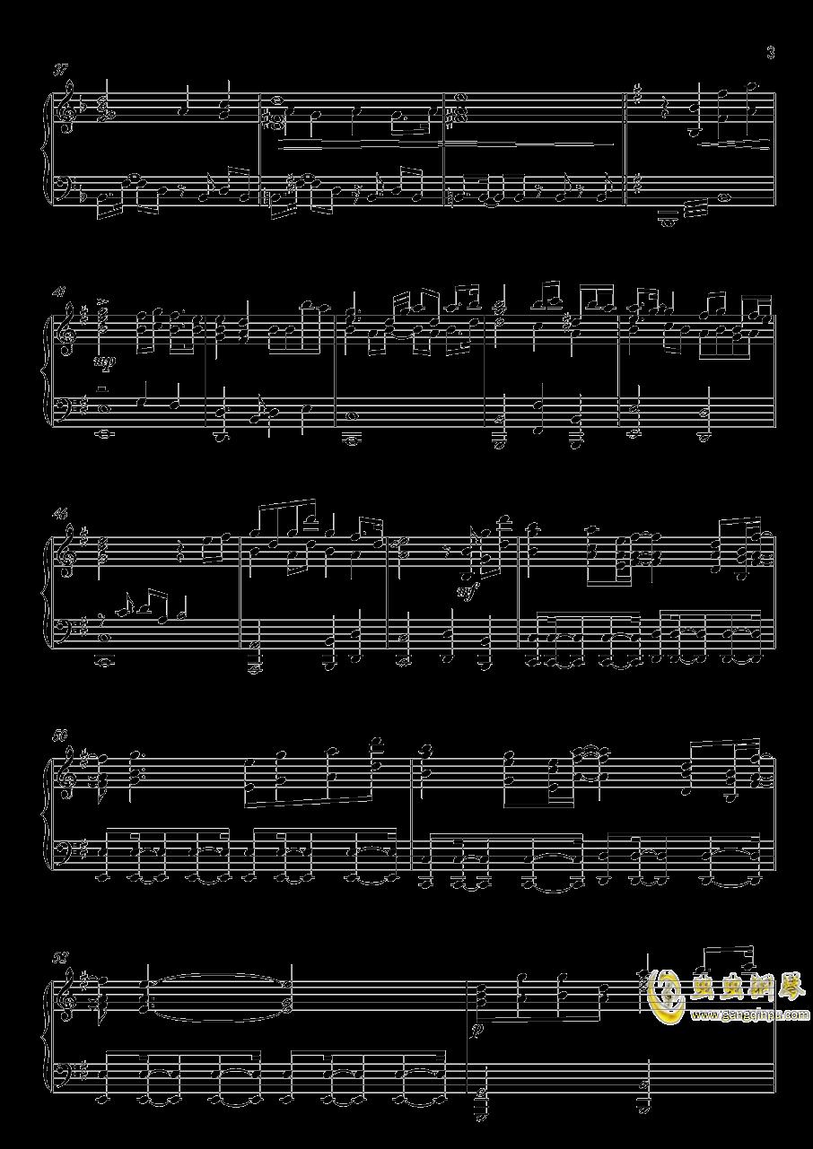 高达UC-Unicorn(改进版)钢琴谱 第3页