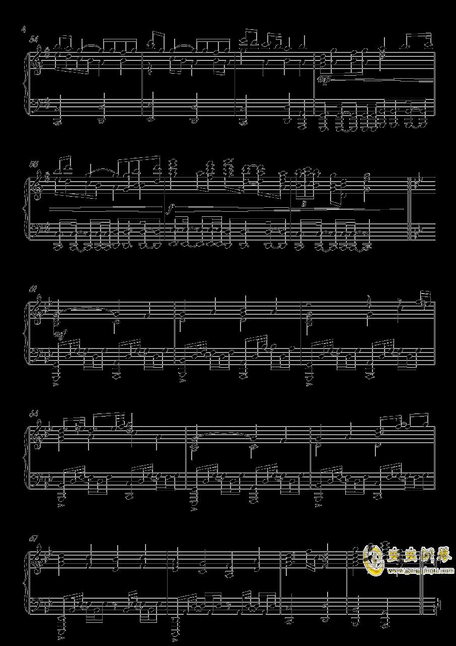 高达UC-Unicorn(改进版)钢琴谱 第4页