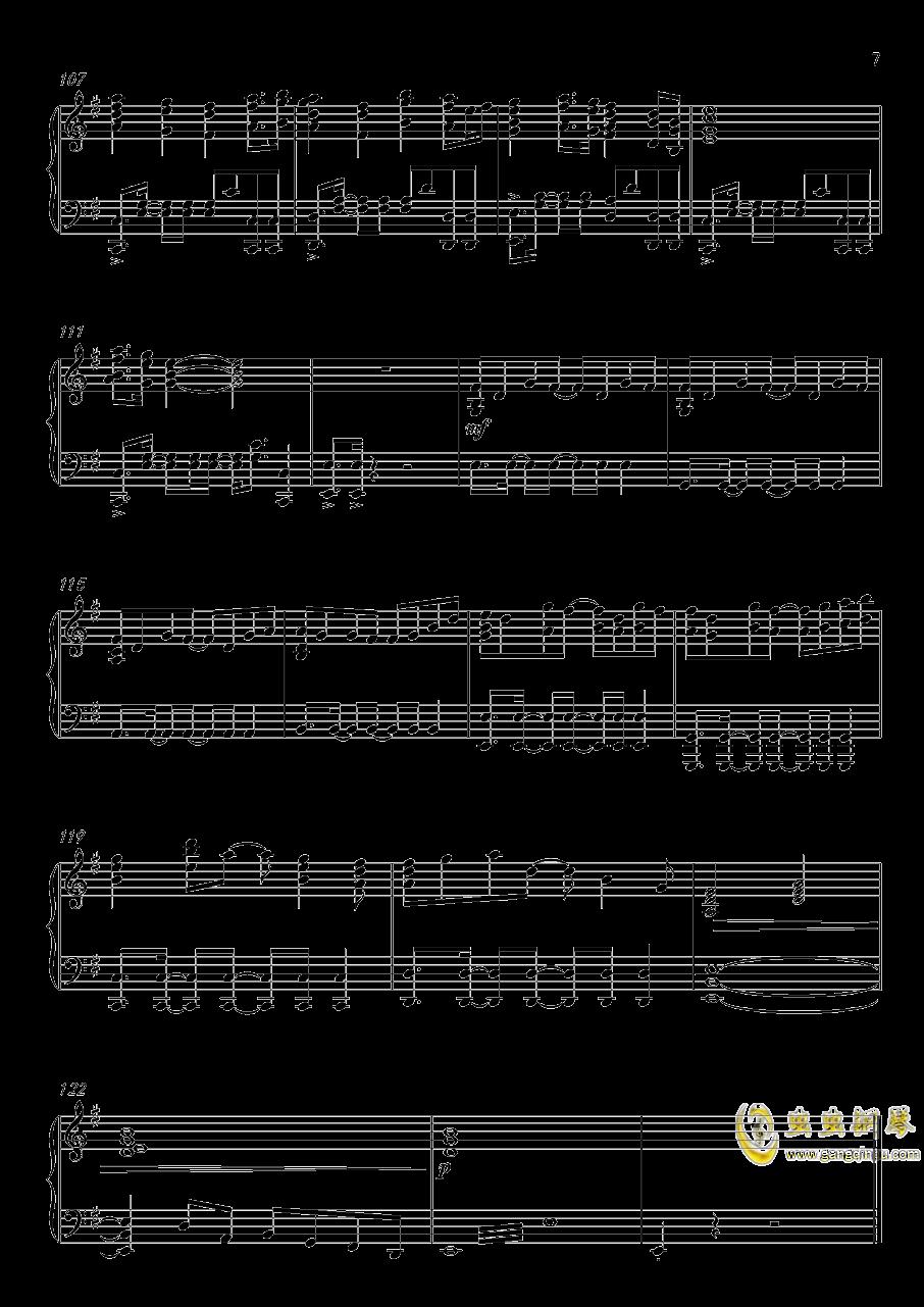 高达UC-Unicorn(改进版)钢琴谱 第7页