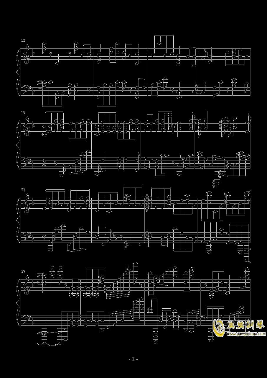 LAST STARDUST Fate钢琴谱 第2页