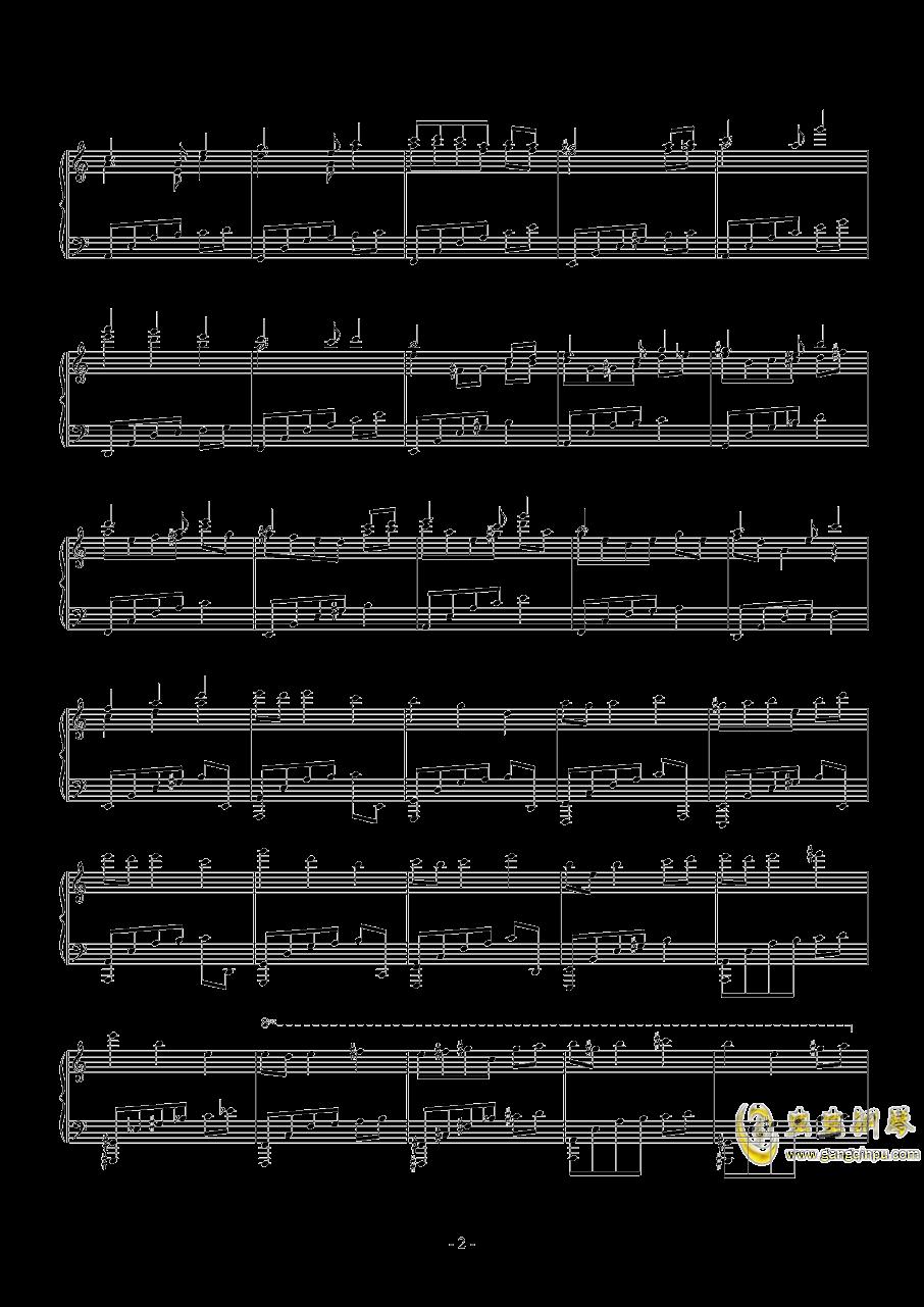 一合一往来钢琴谱 第2页