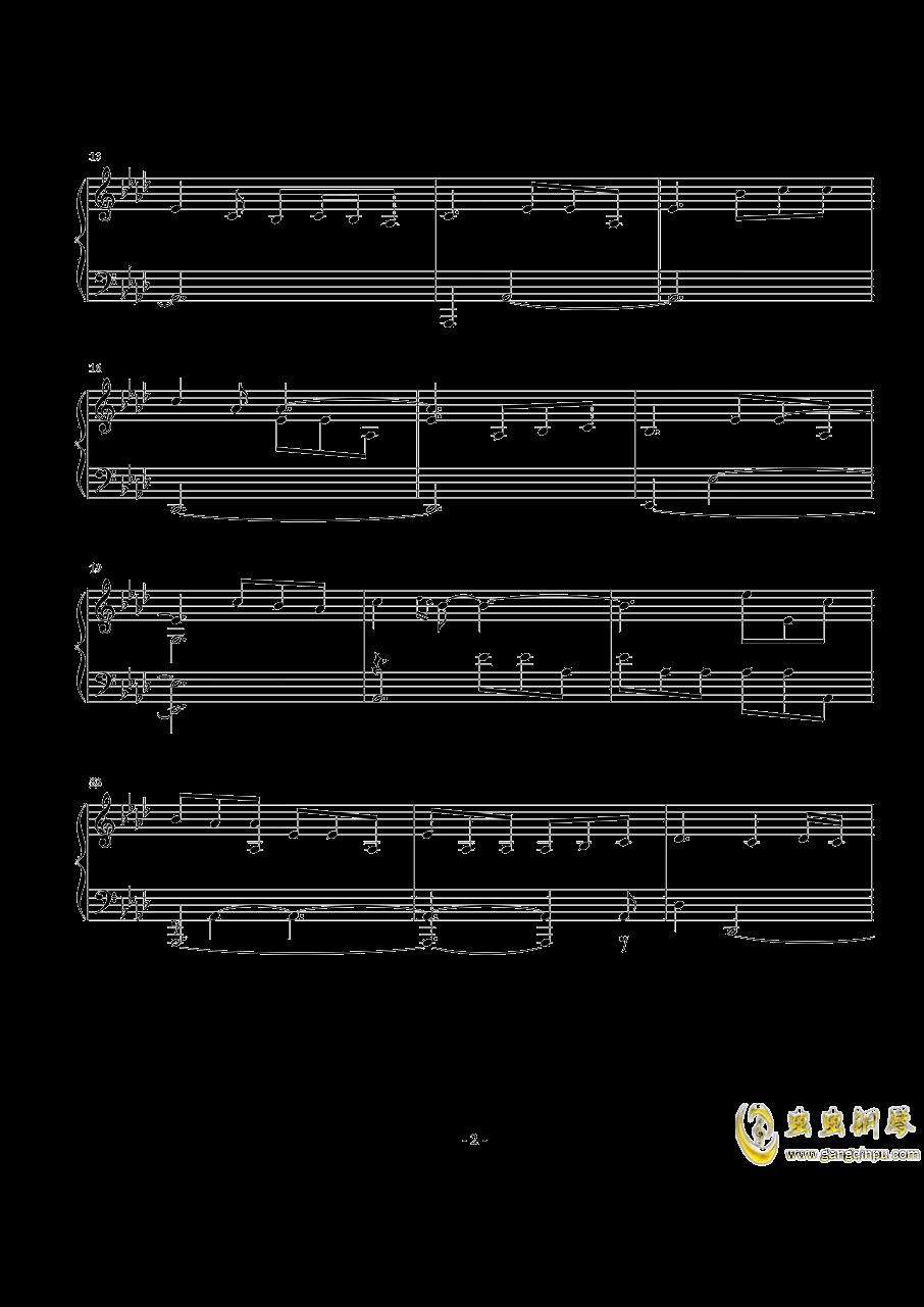 Perfect钢琴谱 第2页