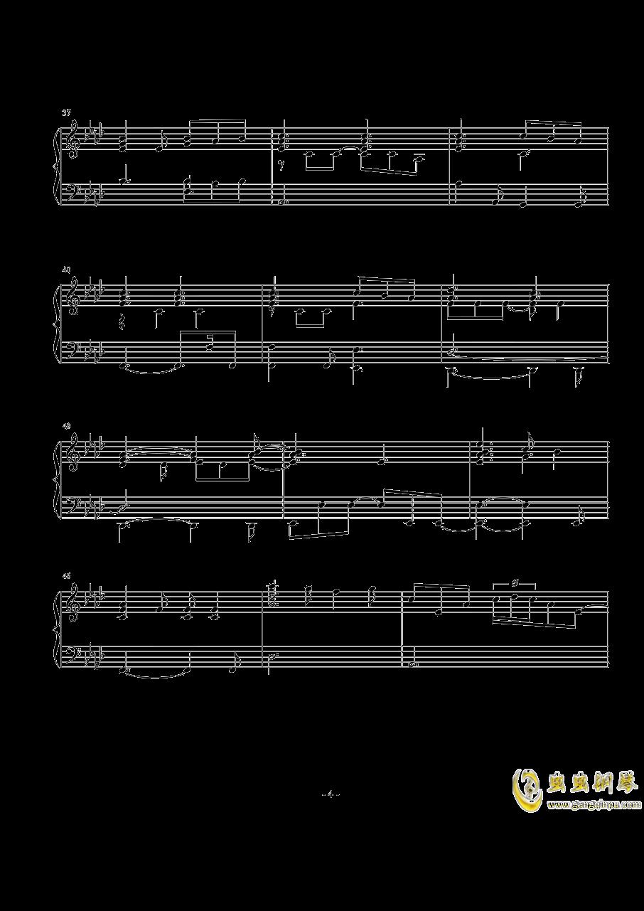 Perfect钢琴谱 第4页