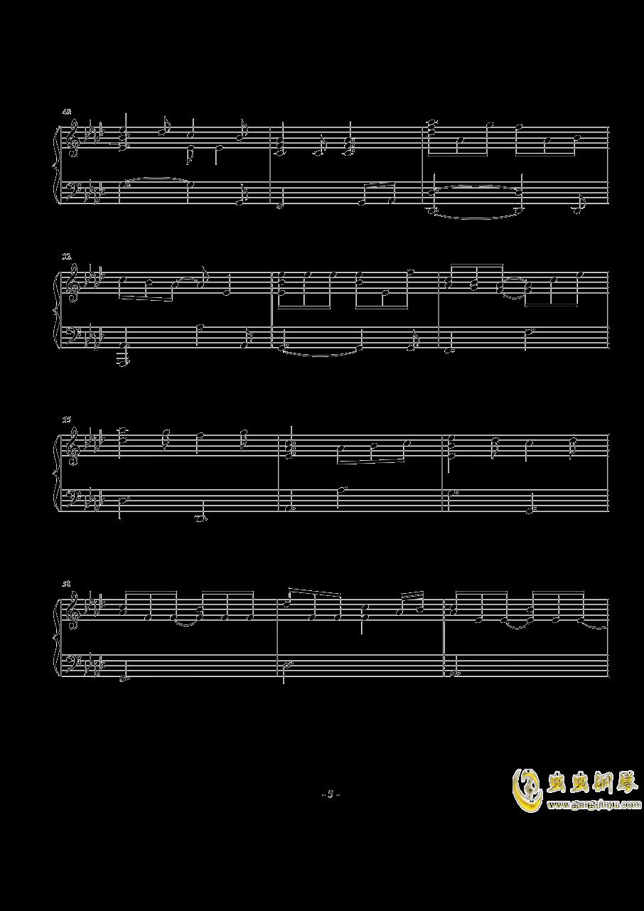 Perfect钢琴谱 第5页