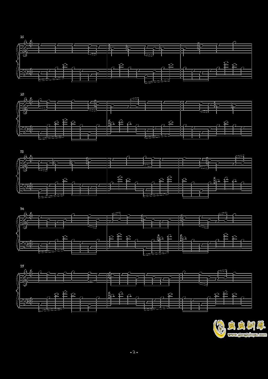 ι钢琴谱 第2页