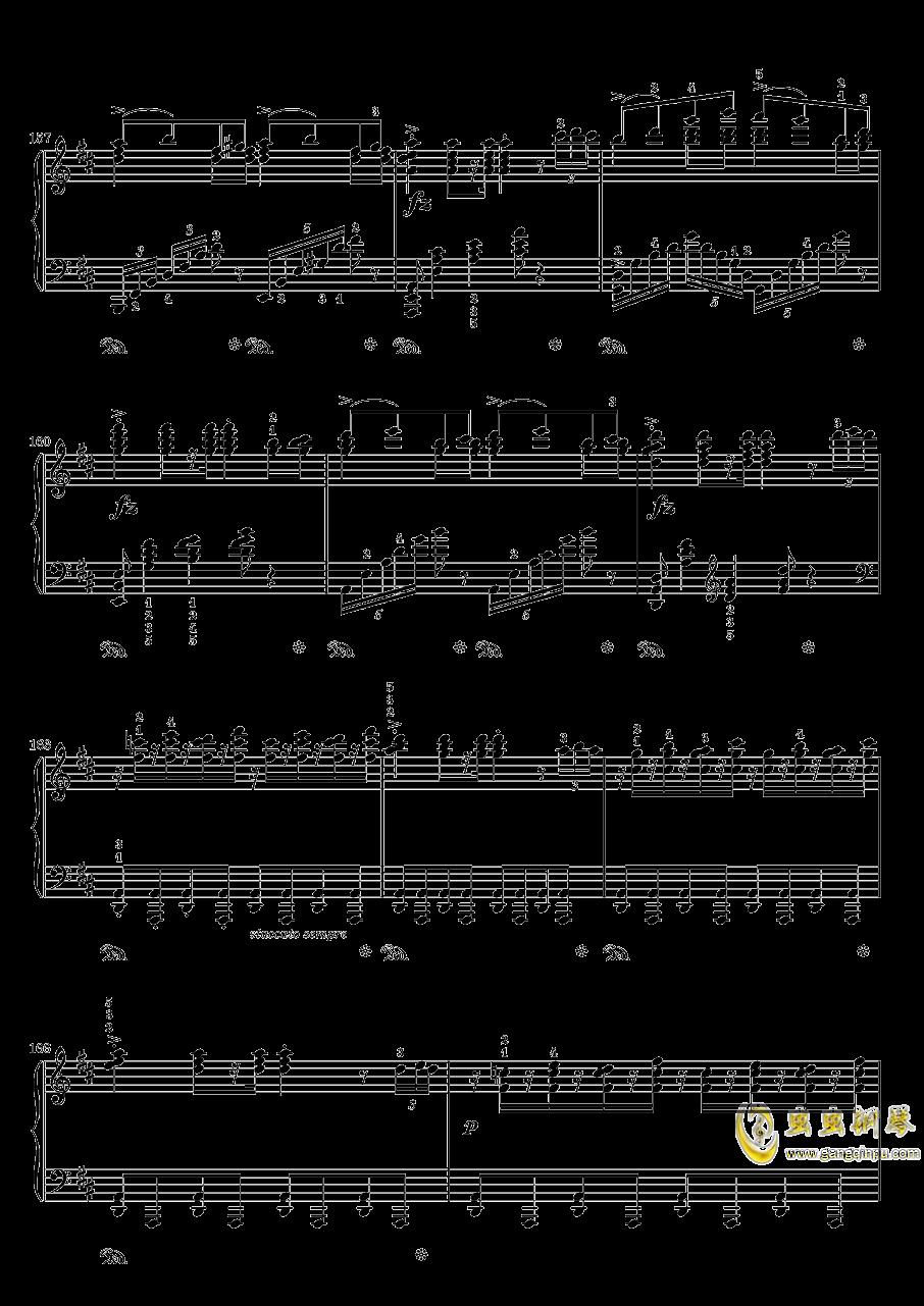 在托罗尔哈根的婚礼钢琴谱 第14页