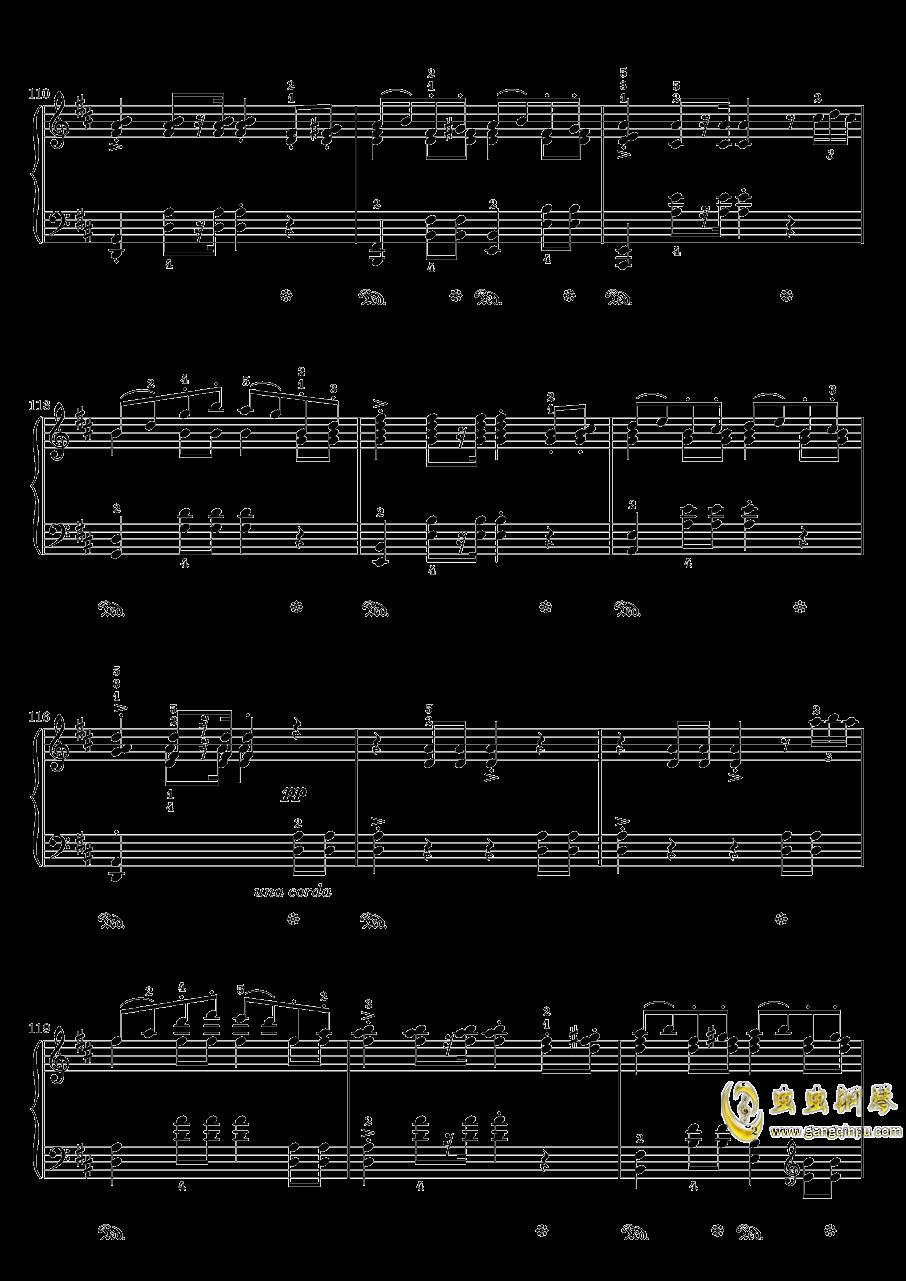 在托罗尔哈根的婚礼钢琴谱 第9页