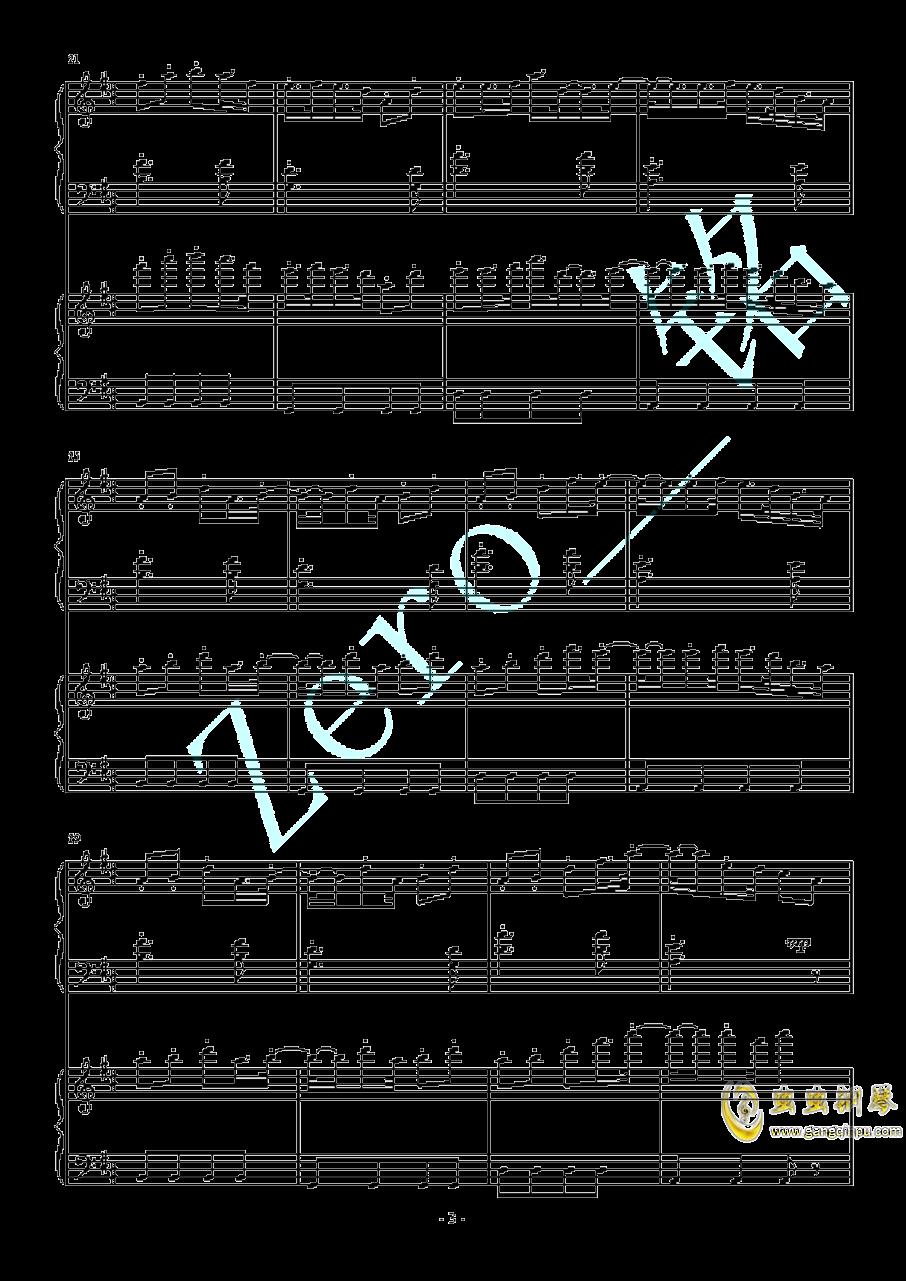 color-X 徐梦圆钢琴谱 第3页