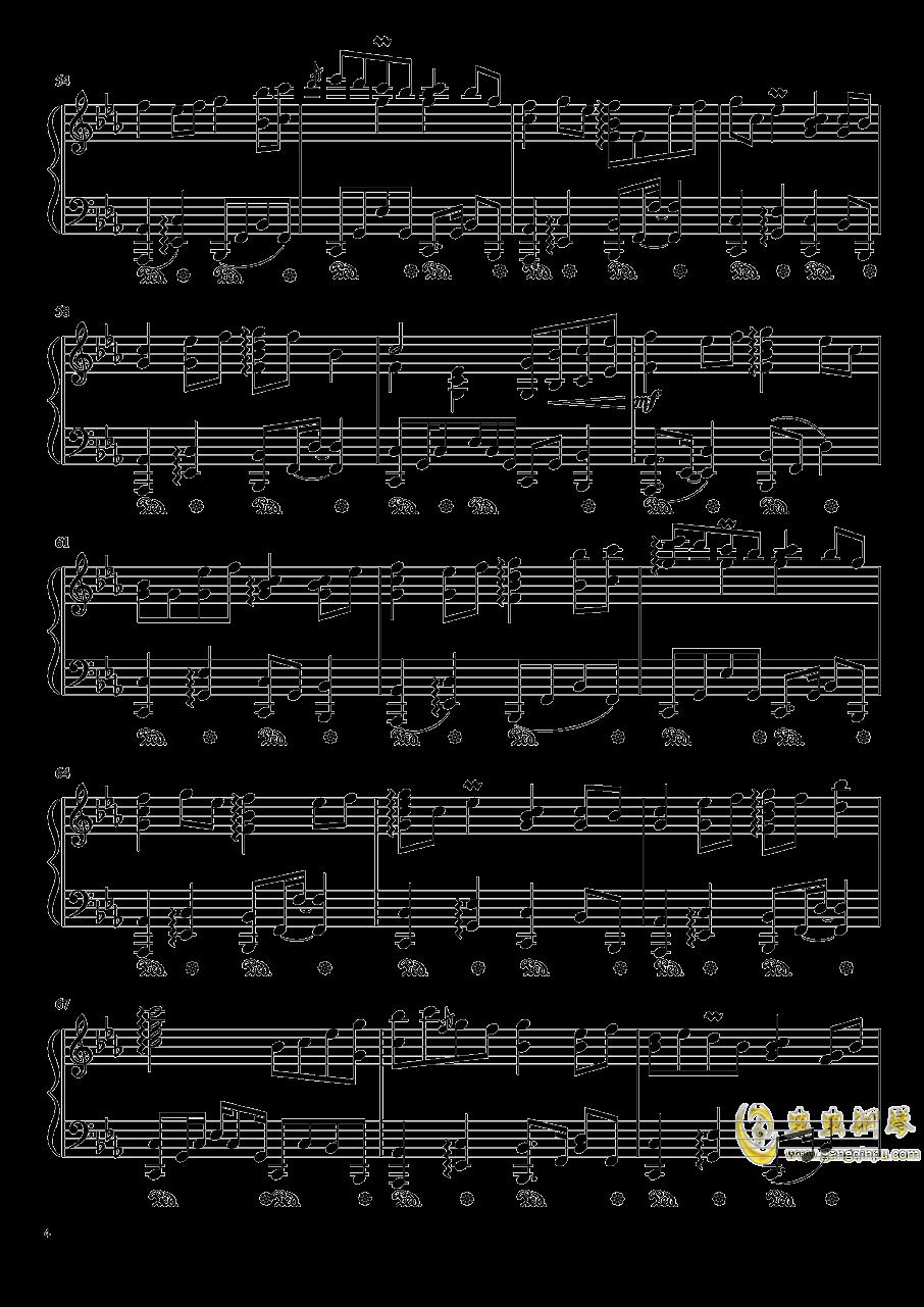 �Z月钢琴谱 第4页