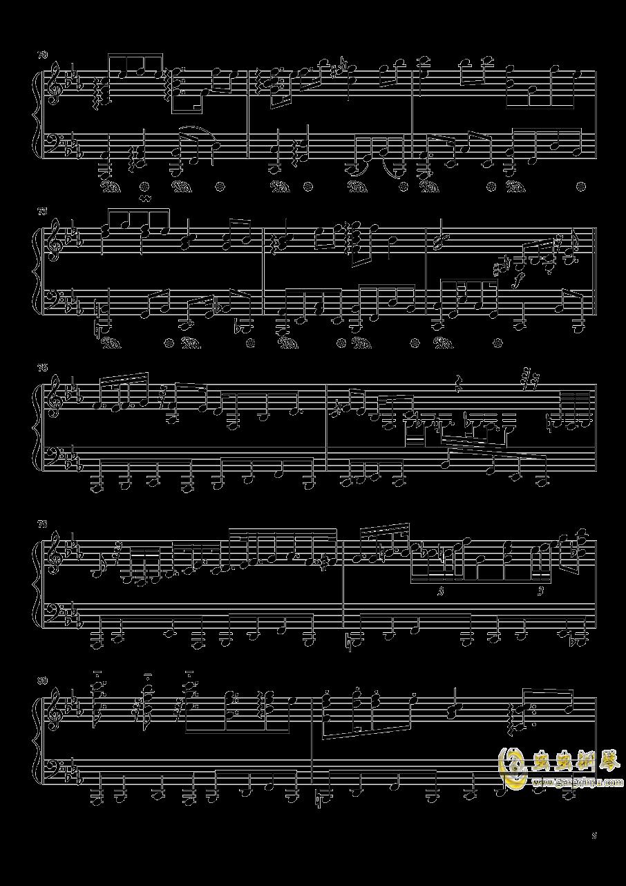 �Z月钢琴谱 第5页