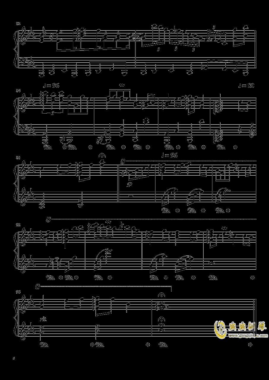 �Z月钢琴谱 第6页