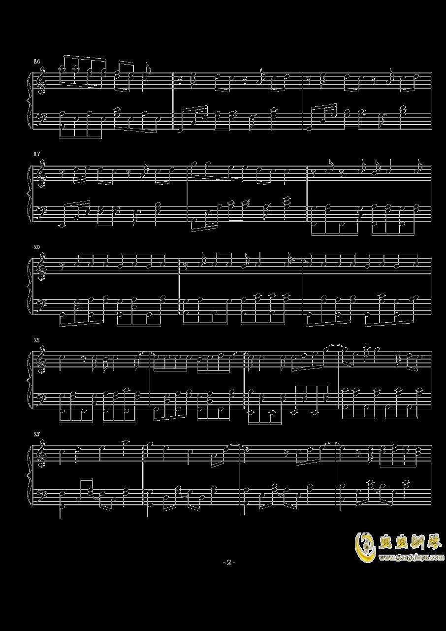 苹果茶的味道钢琴谱 第2页