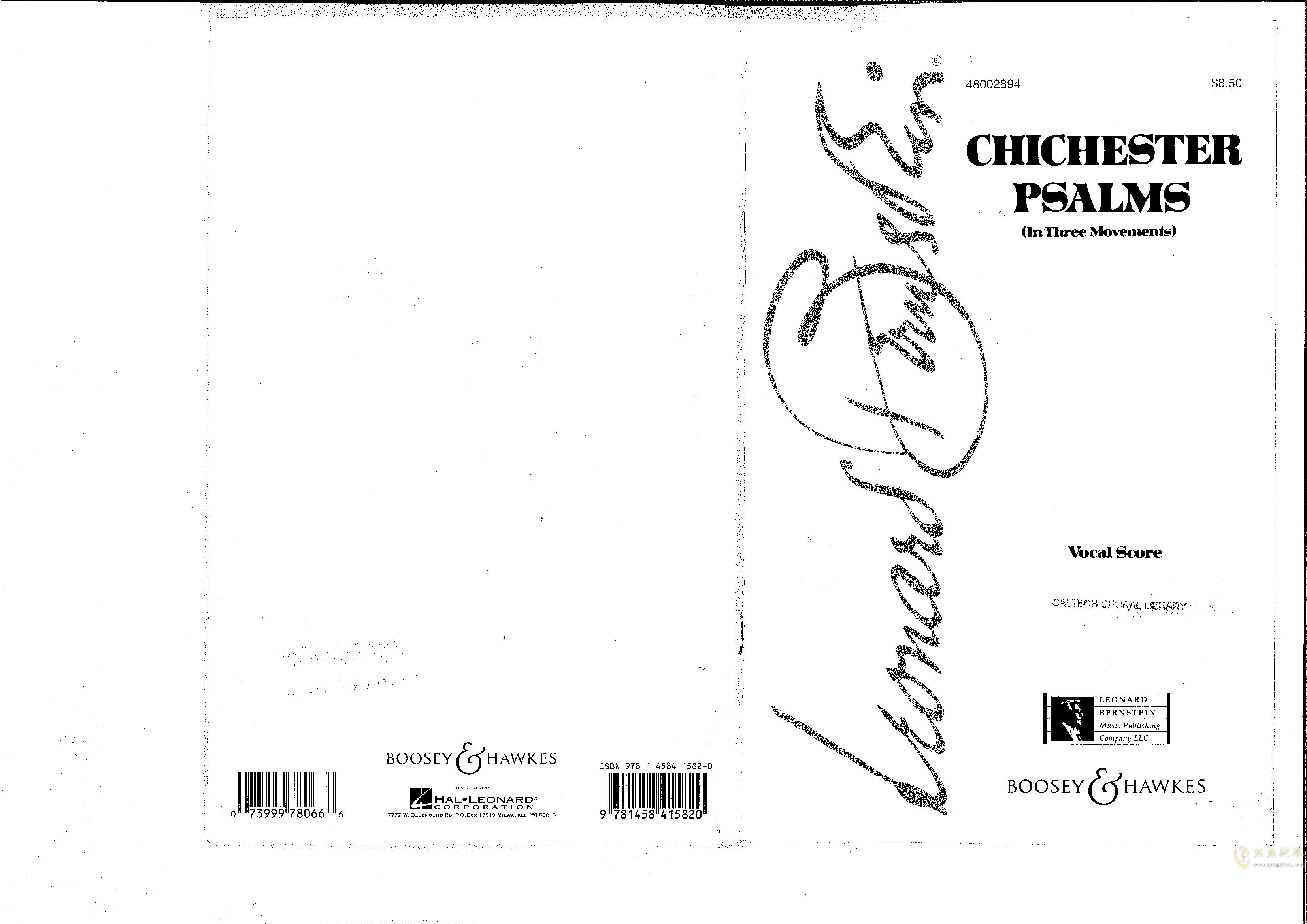 Chichester Psalms澳门星际官网 第1页