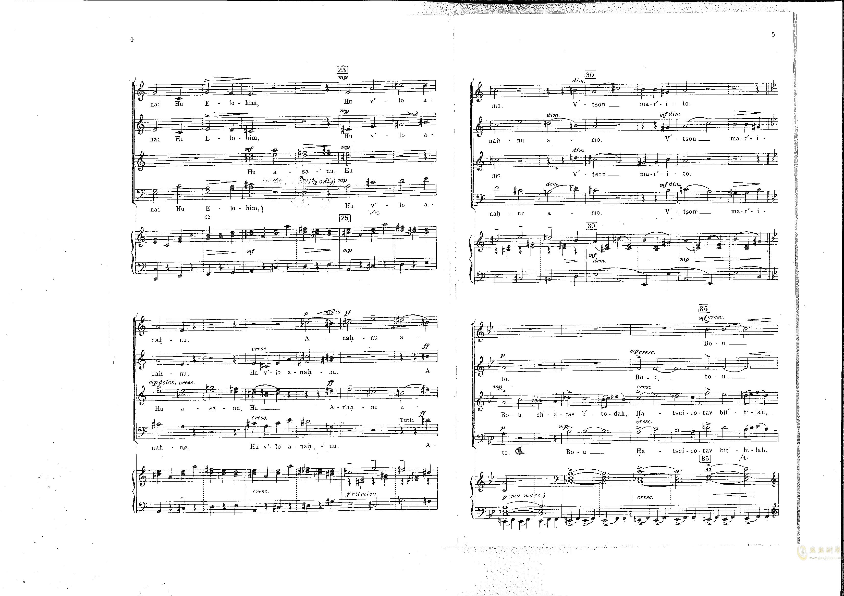 Chichester Psalms澳门星际官网 第6页