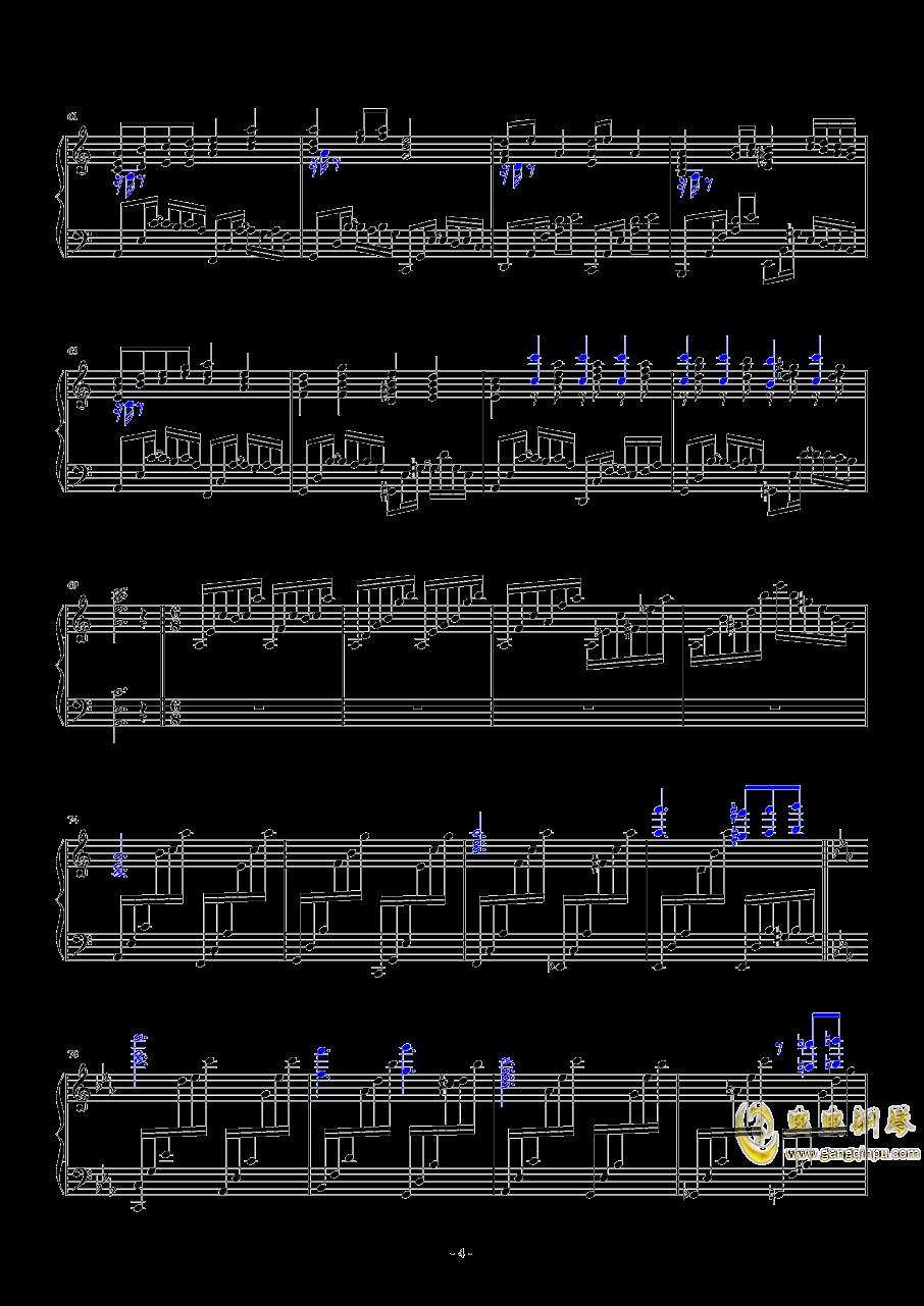 明治十七年の上海アリス(转)钢琴谱 第4页
