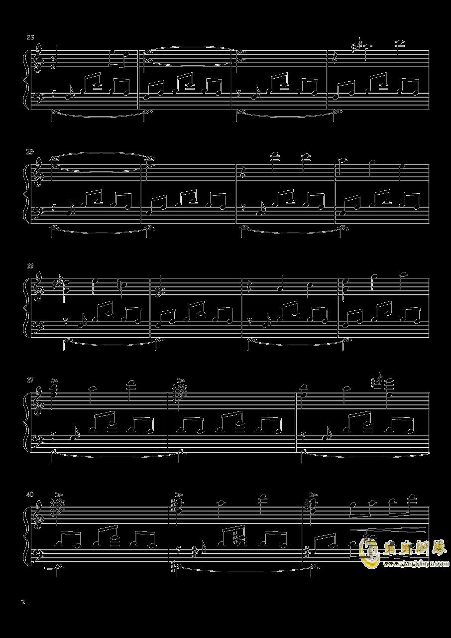 【东方绯想天】�p想天钢琴谱 第2页