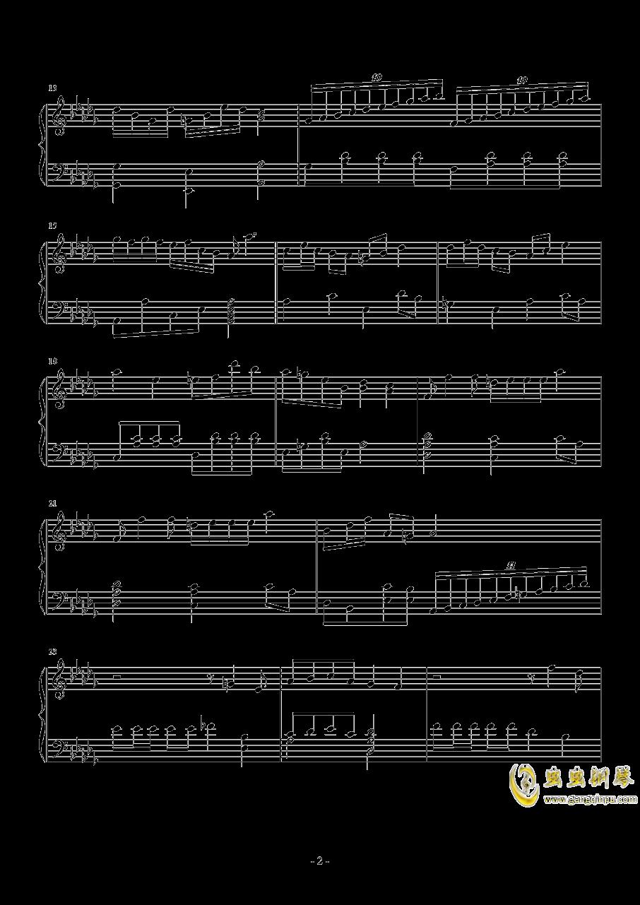 第二钢琴奏鸣曲第一乐章钢琴谱 第2页