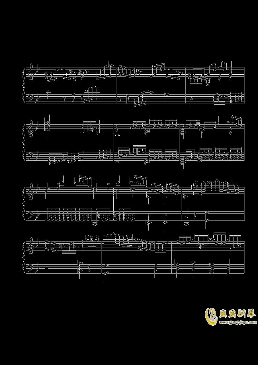 第三钢琴奏鸣曲第一乐章钢琴谱 第2页
