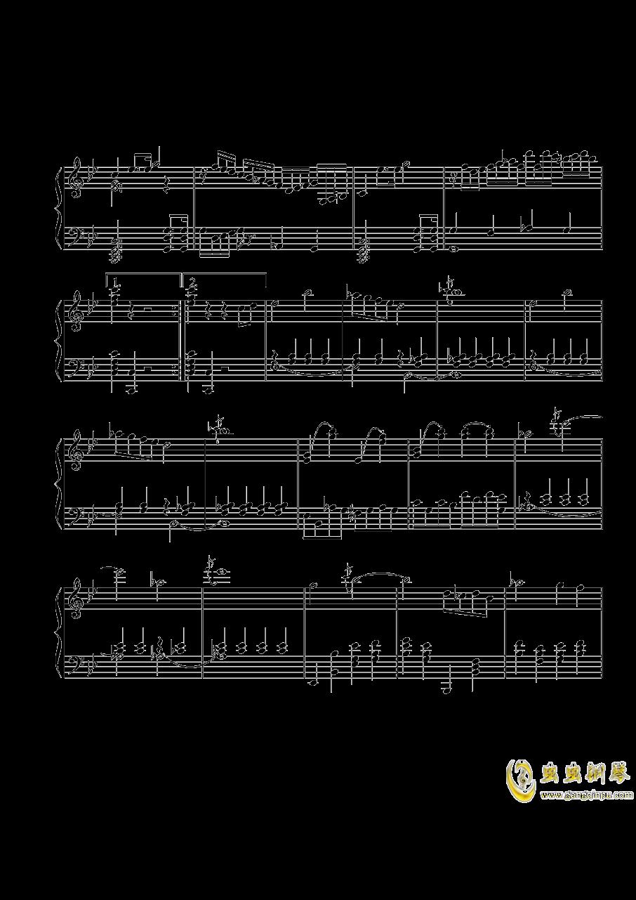 第三钢琴奏鸣曲第一乐章钢琴谱 第3页