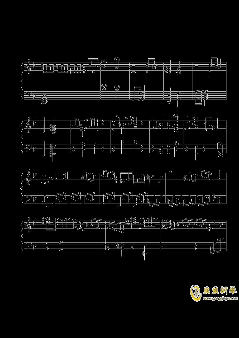 第三钢琴奏鸣曲第一乐章钢琴谱 第5页