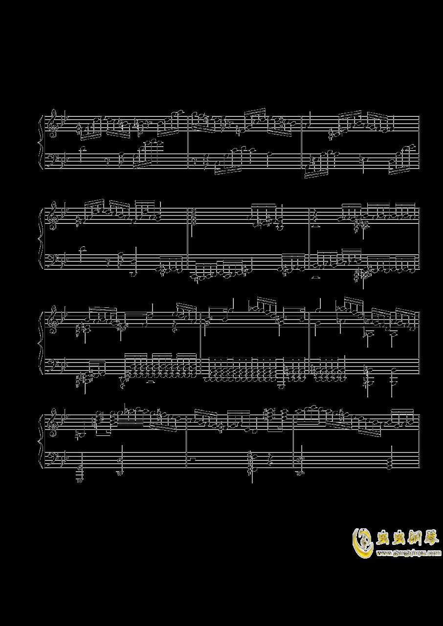 第三钢琴奏鸣曲第一乐章钢琴谱 第6页