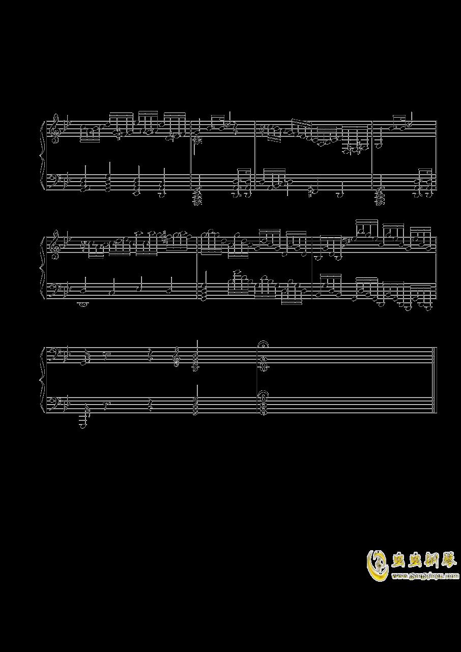第三钢琴奏鸣曲第一乐章钢琴谱 第7页