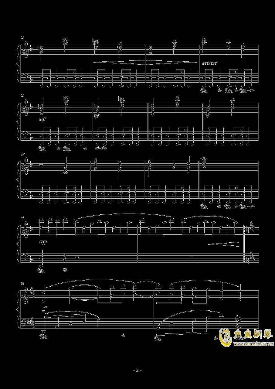 最终幻想钢琴谱 第2页