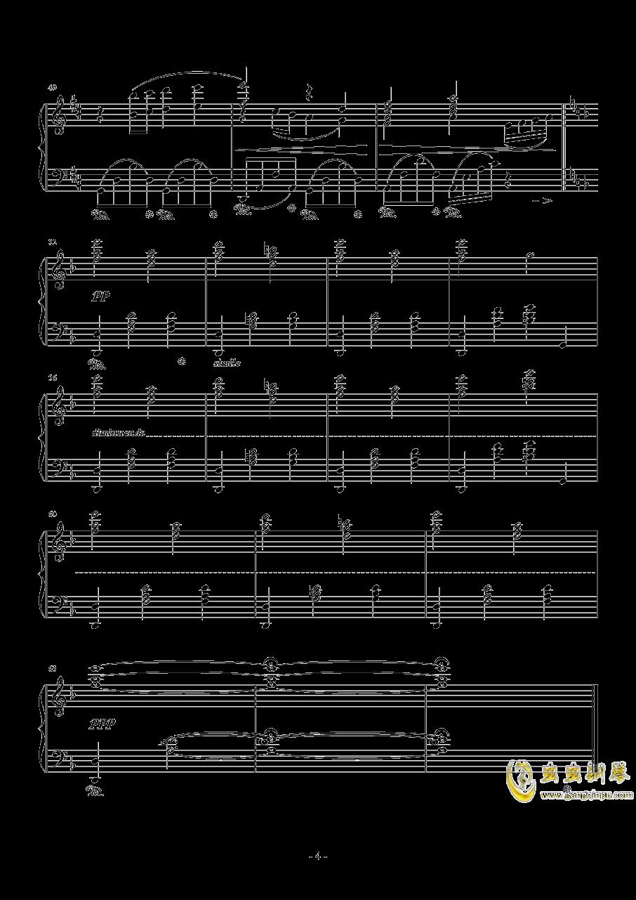 最终幻想钢琴谱 第4页