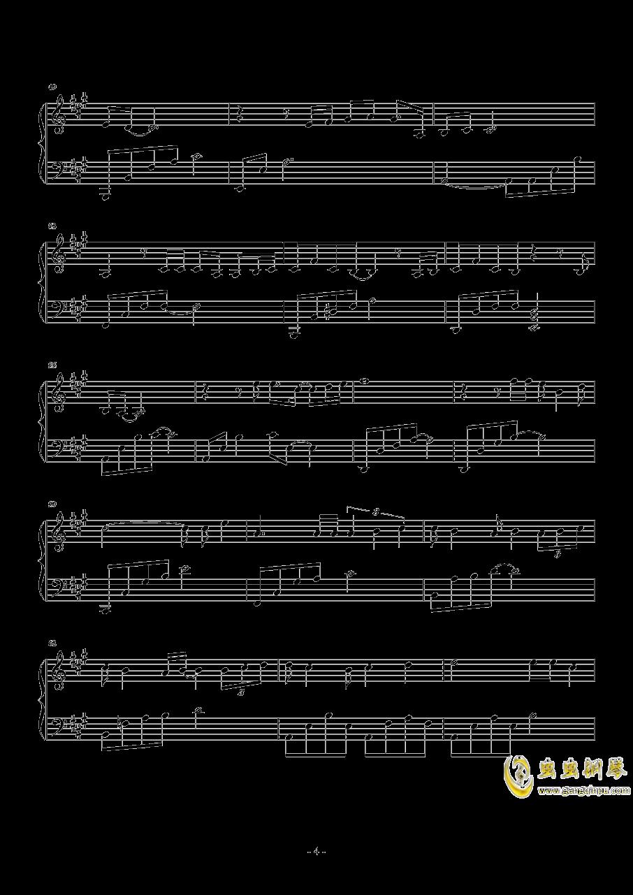 我们钢琴谱 第4页