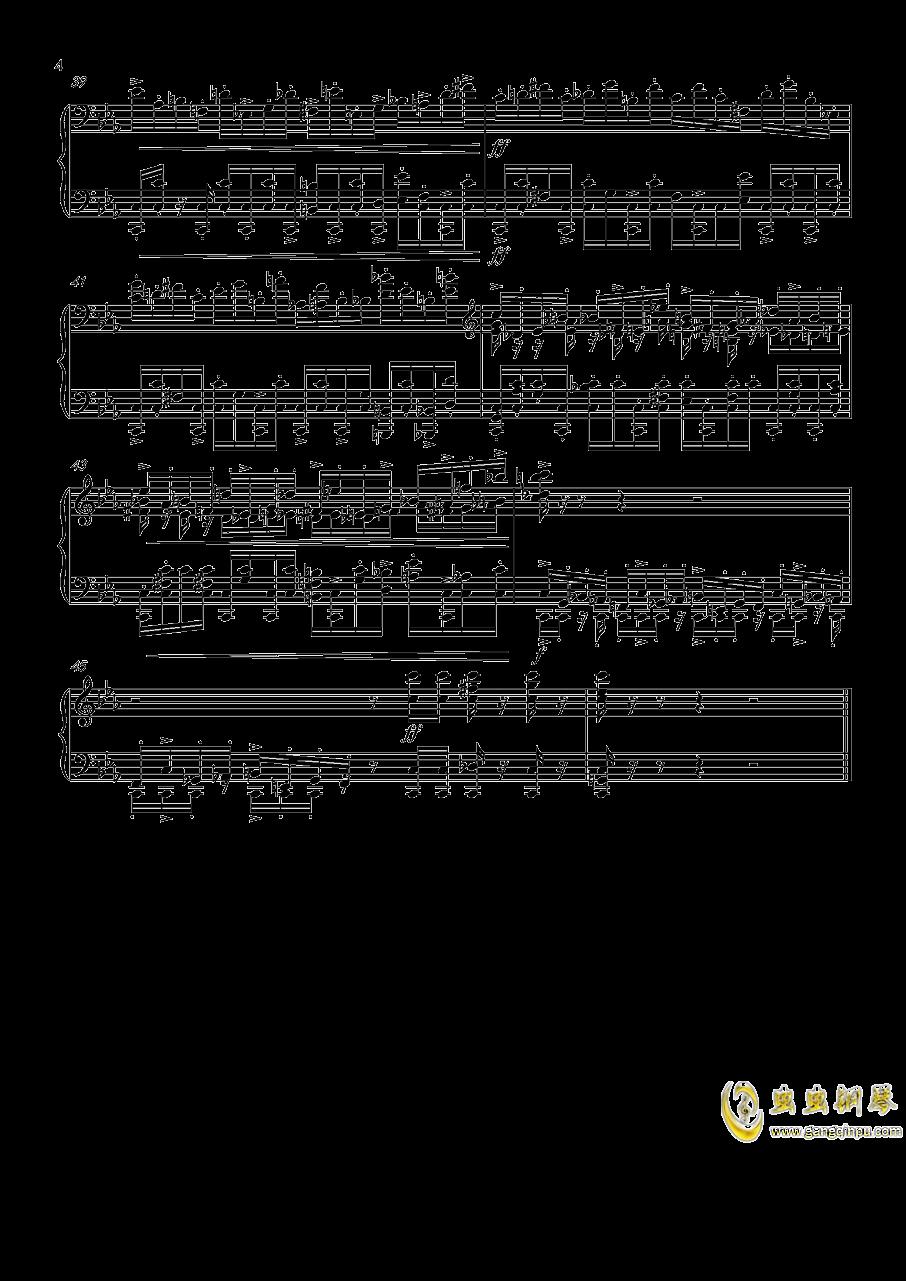 Game钢琴谱 第4页