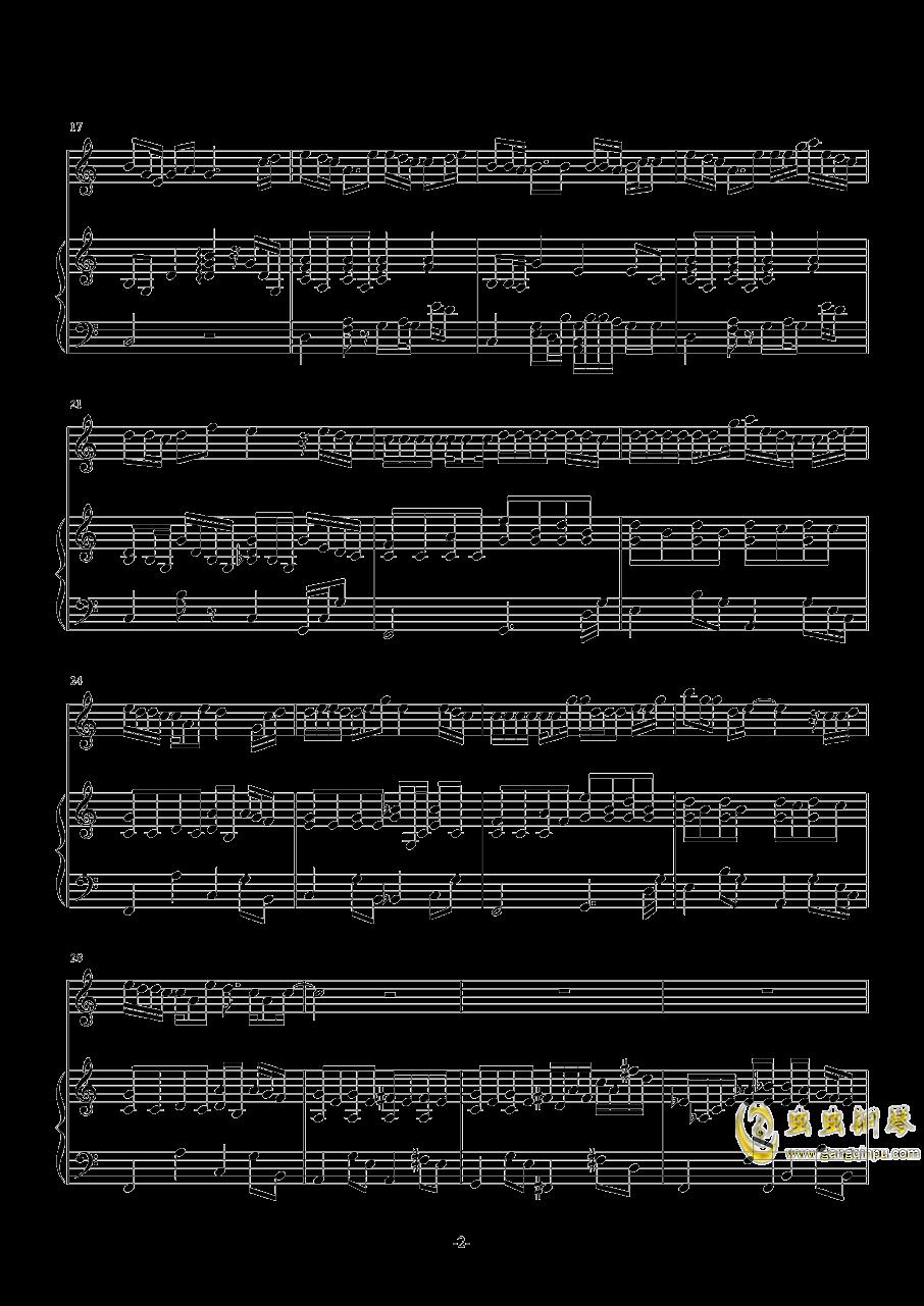 爸爸妈妈钢琴谱 第2页